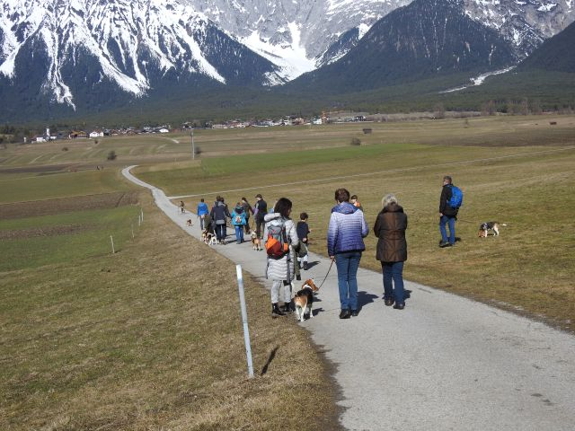 ABC Wanderung vom 03.03.2019 in Mieming Tirol